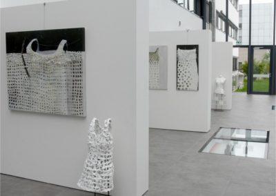Medienhaus Galerieausstellung von Renate Fukerider.